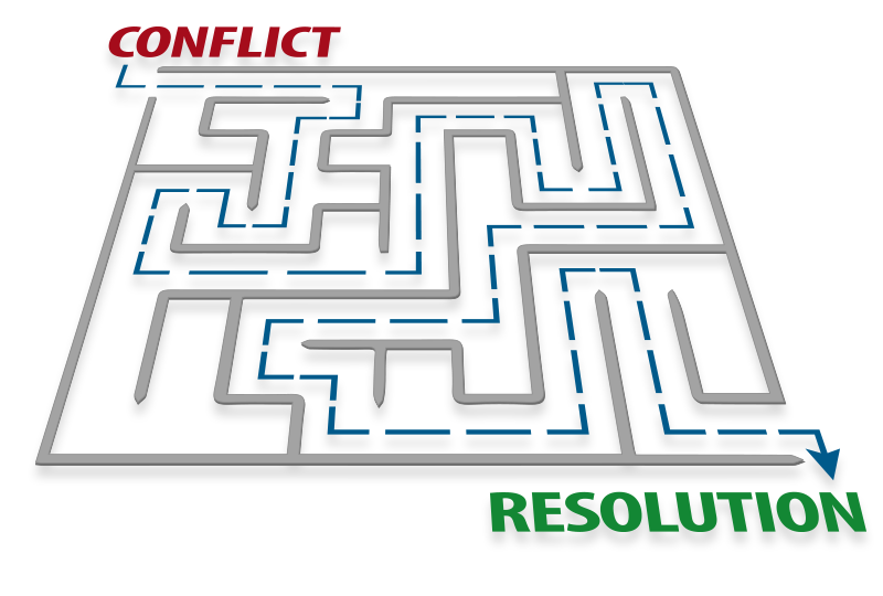 Conflict to Resolution Maze